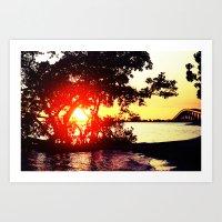 slice of paradise  Art Print