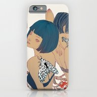iPhone & iPod Case featuring Garden #2 by Xiuyuan Zhang