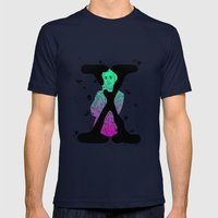 Scully X Aliens Mens Fitted Tee Navy SMALL
