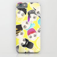 iPhone & iPod Case featuring BIGBANG Collage (Yellow) by Ricky Kwong