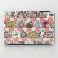 Weird Pickles Coral iPad Case