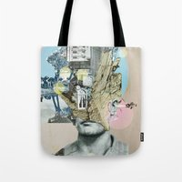 it´s all in your mind · Statue Tote Bag