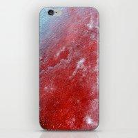 red ice iPhone & iPod Skin