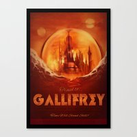 Travel to Gallifrey! Canvas Print