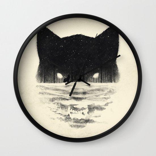 Wolfy Wall Clock