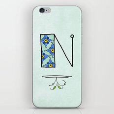 N n iPhone & iPod Skin