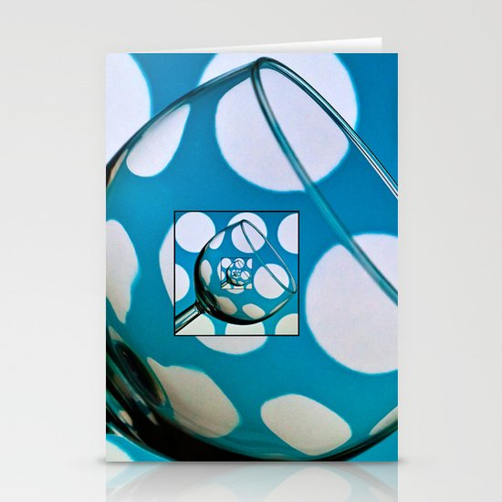 Glass within a glass within .......... Stationery Card