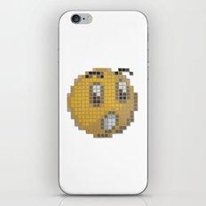 Emoticon Ohh iPhone & iPod Skin