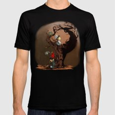 Over The Garden Wall- Wirt, Greg, Beatrice, and The Beast Mens Fitted Tee Black SMALL