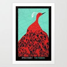 The Firebird - Stravinsk… Art Print