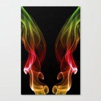 Smoke Photography #13 Canvas Print