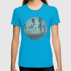 Fernweh Vol 4 Womens Fitted Tee Teal SMALL