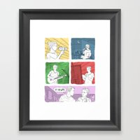 Art Girl Framed Art Print