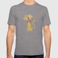 Cat Gift Mens Fitted Tee Tri-Grey SMALL