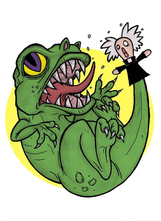 The Dinosaur  Art Print