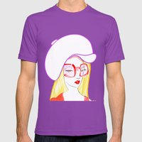 Hip Girl Mens Fitted Tee Ultraviolet SMALL