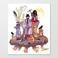 Gravediggers Canvas Print