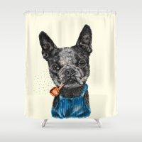 F.B.D II Shower Curtain