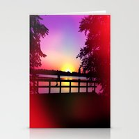 Warm Summer Nights At Du… Stationery Cards