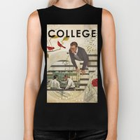 Welcome To... College Biker Tank