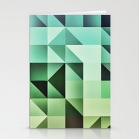 :: geometric maze III :: Stationery Cards