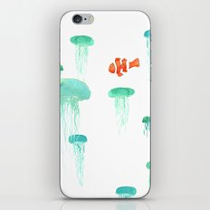 Sea of Jellies iPhone & iPod Skin