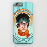 iPhone & iPod Case featuring I am Darren Nichols. Deal with THAT. by SL Scheibe