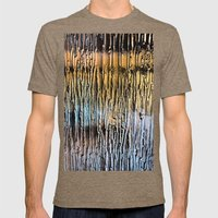 Frozen Mens Fitted Tee Tri-Coffee SMALL