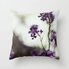 Only whispers can tell Throw Pillow