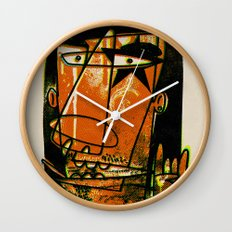 ROCK ON BABY Wall Clock