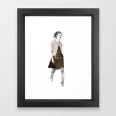 catwalk 1 Framed Art Print