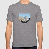 Twin Peaks Mens Fitted Tee Tri-Grey SMALL