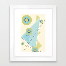 More Abstract It Becomes Framed Art Print
