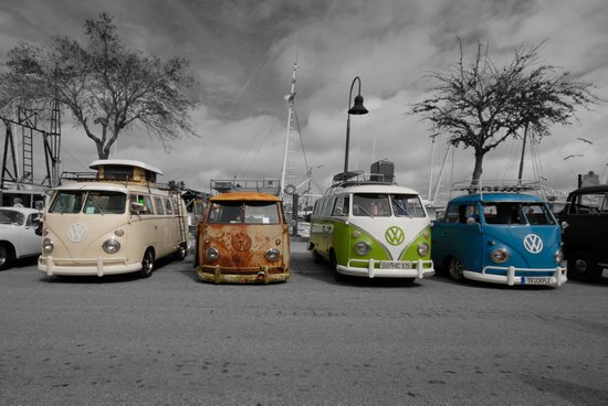 VW BUS'S  Art Print