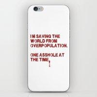 I Can Change The World! iPhone & iPod Skin