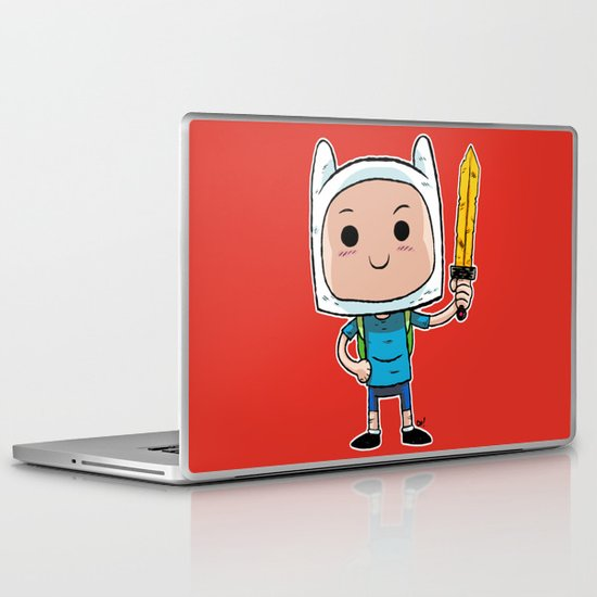 What Time Is It? Laptop & iPad Skin