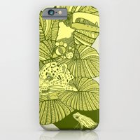 iPhone & iPod Case featuring The Amazon by Clare Corfield Carr
