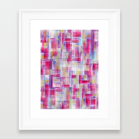 Separator (Skein I Remix) Framed Art Print