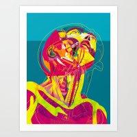 Anatomy 210914 Art Print