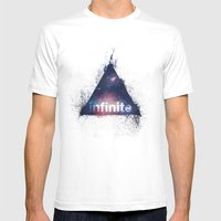 Infinite Mens Fitted Tee White SMALL