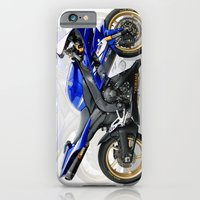Yamaha R1 blue iPhone 6 Slim Case