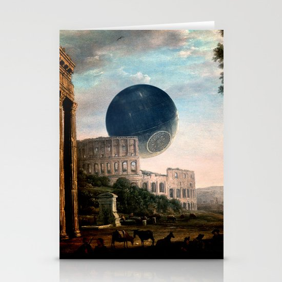 Death Star Stationery Card