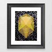 Shine Bright Like A Diam… Framed Art Print