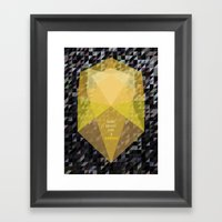 Shine Bright Like A Diam… Framed Art Print