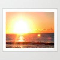 Sunrise Art Print