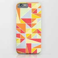 iPhone Cases featuring Shapes 008 by INDUR