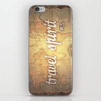 Travel Spirit #3 iPhone & iPod Skin