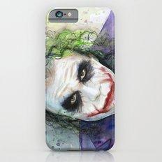 The Joker Watercolor iPhone 6s Slim Case