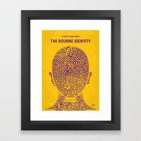 No439 My The Bourne Iden… Framed Art Print