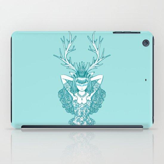 My Deer Girl // Emerald iPad Case